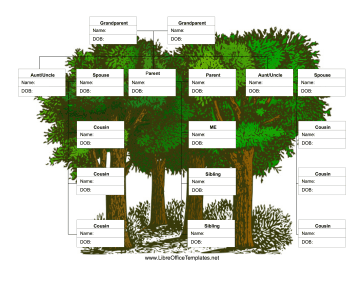 Family tree template family tree template including for Family tree templates with siblings